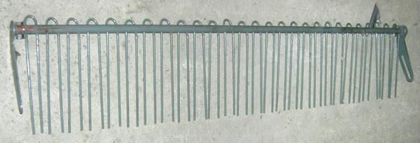 Решетка пальцевая подбарабанья ДОН-1500 10.01.19.020