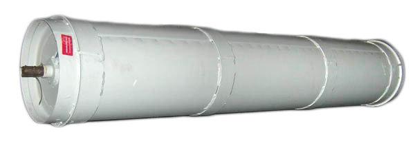 Вал нижний транспортера наклонной камеры ДОН-1500 3518060-18310Б