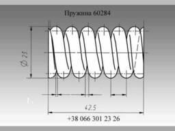 Пружина механизма предохранительного Нива 61432